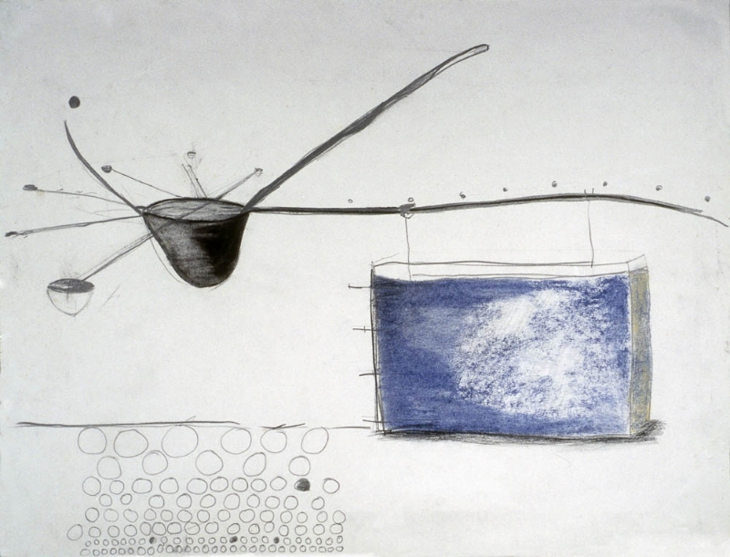 Untitled  , 2004 Pastel, watercolor, and graphite on paper dimensions variable