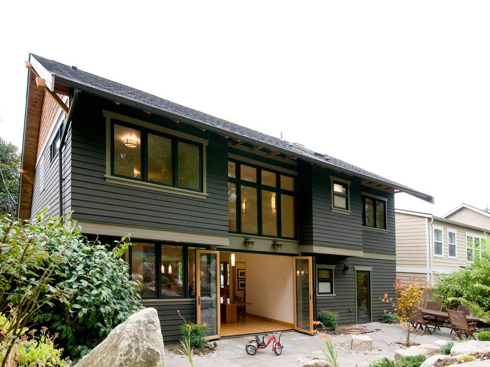 Seattle Backyard Cottage Guide : This Zen craftsman is a second story addition and first floor