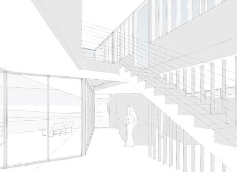 HINGE-interior at entry