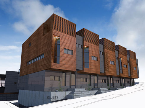 Urban Olympic multifamily Passive House