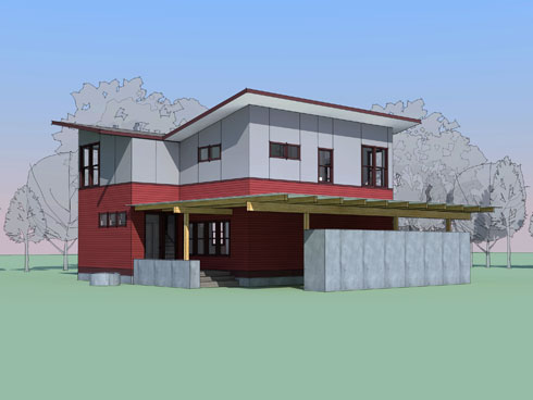 West seattle prefab cast architecture for Prefabricated homes seattle