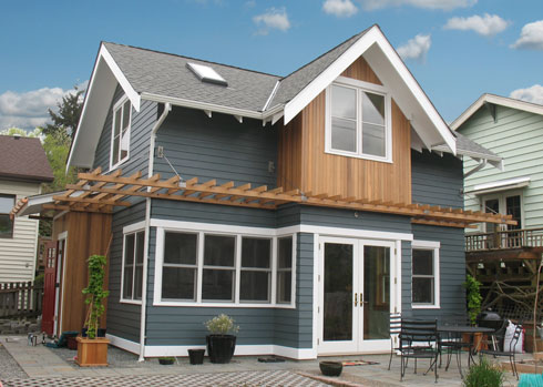 2012 Best Small House Award From Fine Homebuilding Cast
