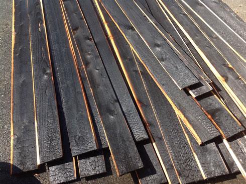 Shou Sugi Ban Charred Cedar Siding Cast Architecture