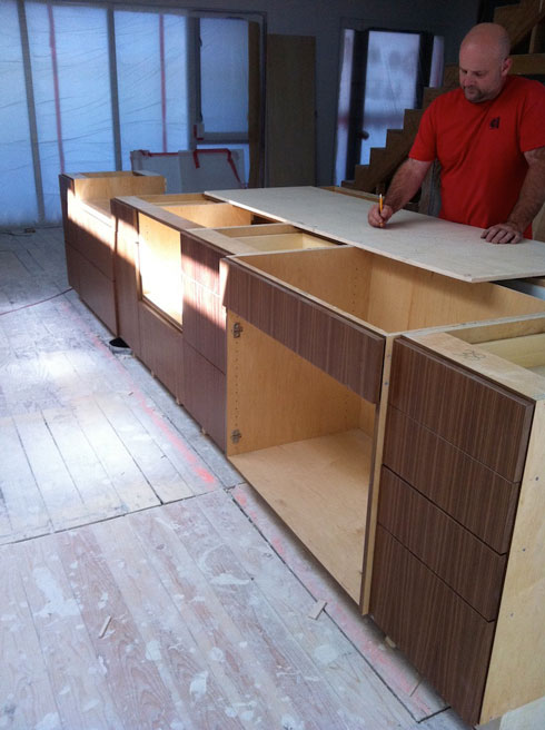 CAST architecture kitchen island