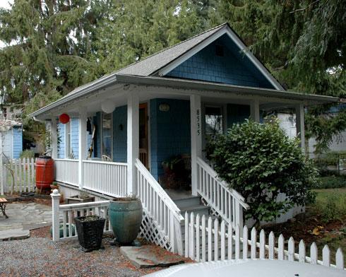 Blogging A Seattle Backyard Cottage A Cast Architecture