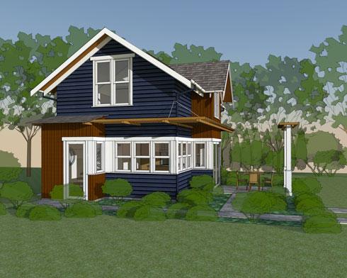 seattle backyard cottage in phinney ridge