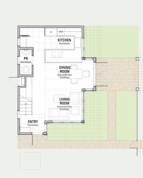 Phinney Ridge Backyard Cottage Cast Architecture