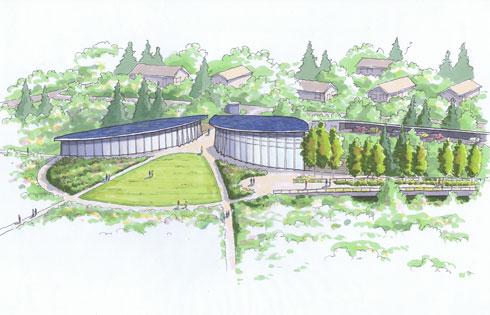 Arboretum Visitor Center-North Gateway
