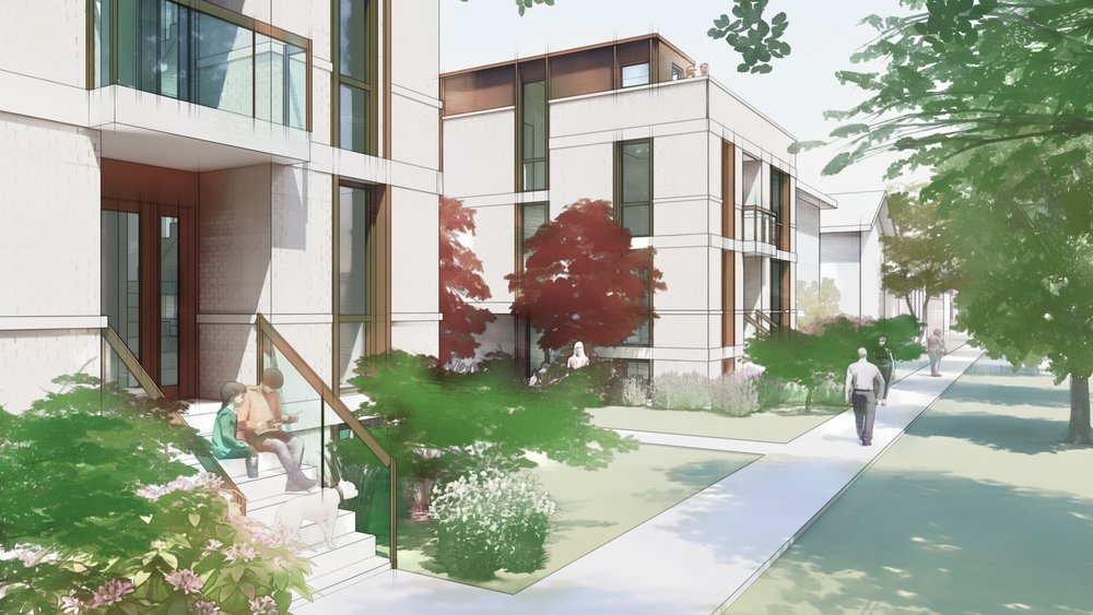 Residential Small Lot Streetscape