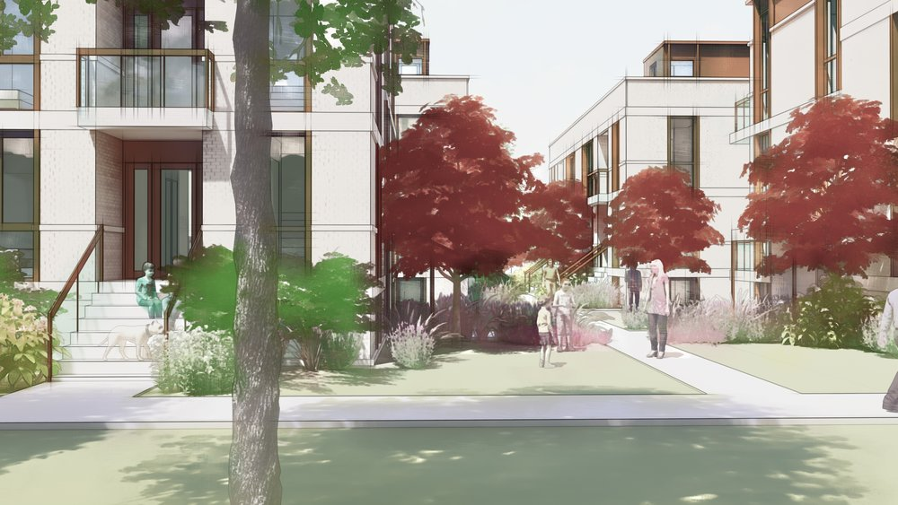 Residential Small Lot zoning: Courtyard bungalows