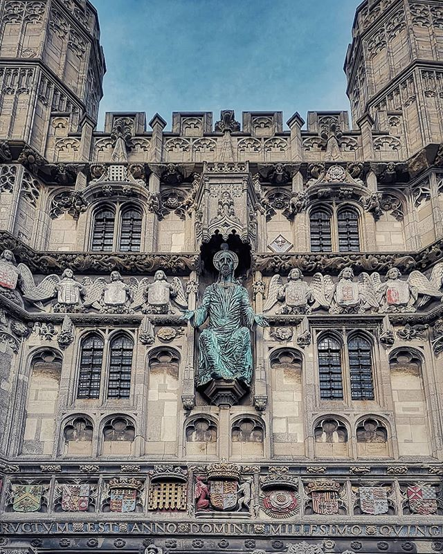#canterbury #england #kent #history #detail #art #medievalart #masonry #uk #european #cathedral #wonderful_places #explore #explorebritain #britain #travel #travelgram #wanderlust #christianity #faith