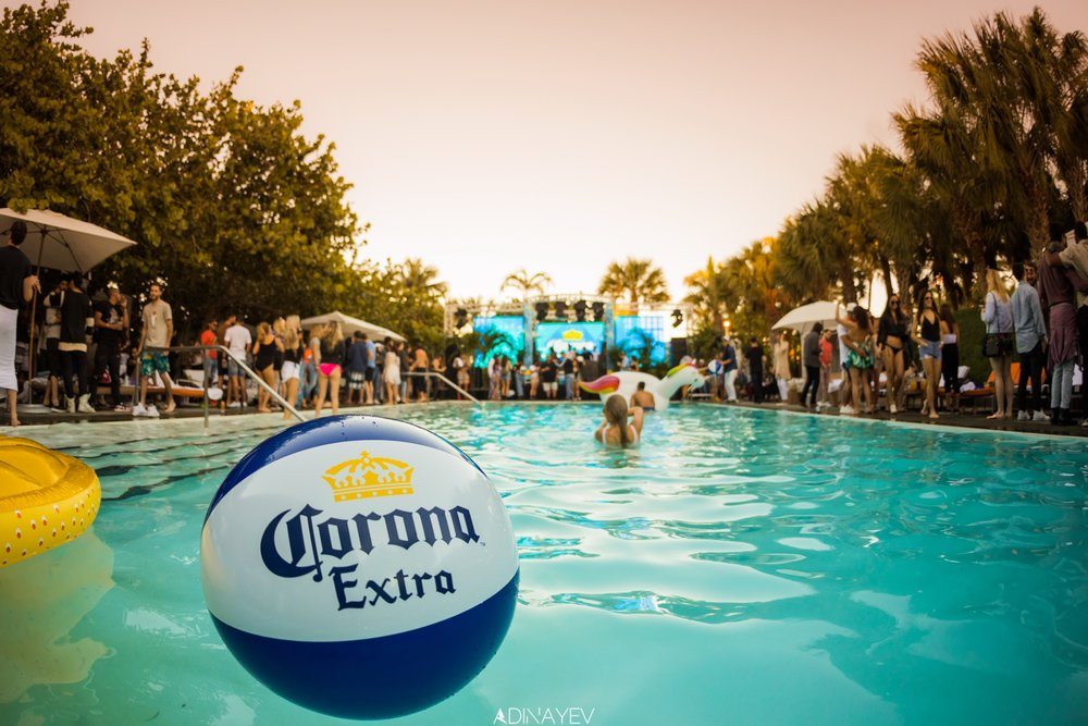CORONA ELECTRIC BEACH