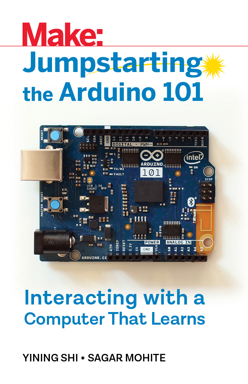 Jumpstarting the Arduino 101 book cover