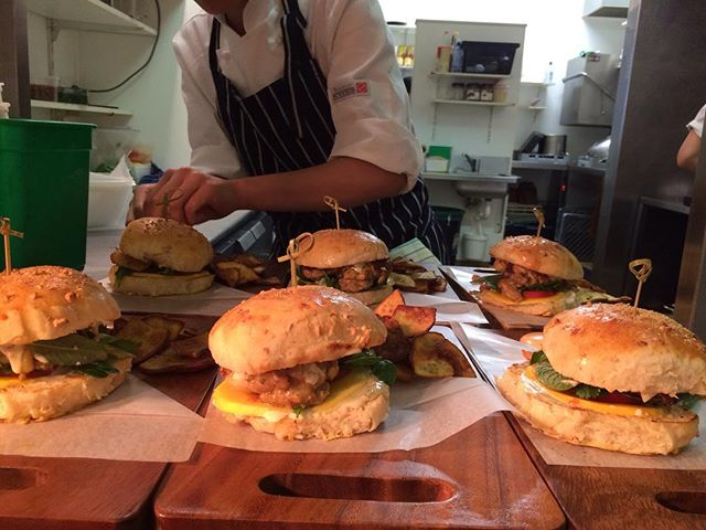 Burgers were a sell out this lunch time! Book now to try our Bang To Death Burger #vietnamesecuisine #burgerwellington #wellyonaplate