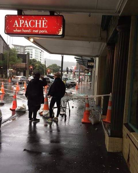 Due to damage to the surrounding area, Apache will be closed today and reopening tomorrow. We are very sorry for any inconvenience and hope everyone is staying safe!