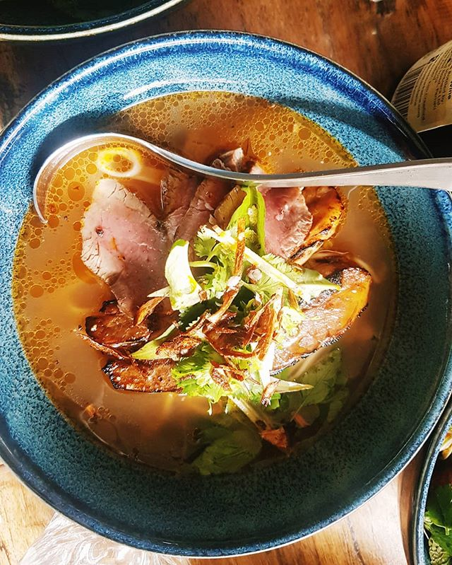 Valentine's day is almost here... Have you planned anything special for the one pho you? Make this one an un-pho-gettable one and book your table with us. Our Valentine's day set menu will be out soon. #WatchThisSpace  Here's our PHO BO ' NAM DINH STREET STYLE BEEF NOODLE SOUP'. Waikanui grain-fed eye filets, Wagyu brisket slow-cooked for 8 hours, flat rice noodles, roasted marrow bone broth, soft herbs &crispy shallots.