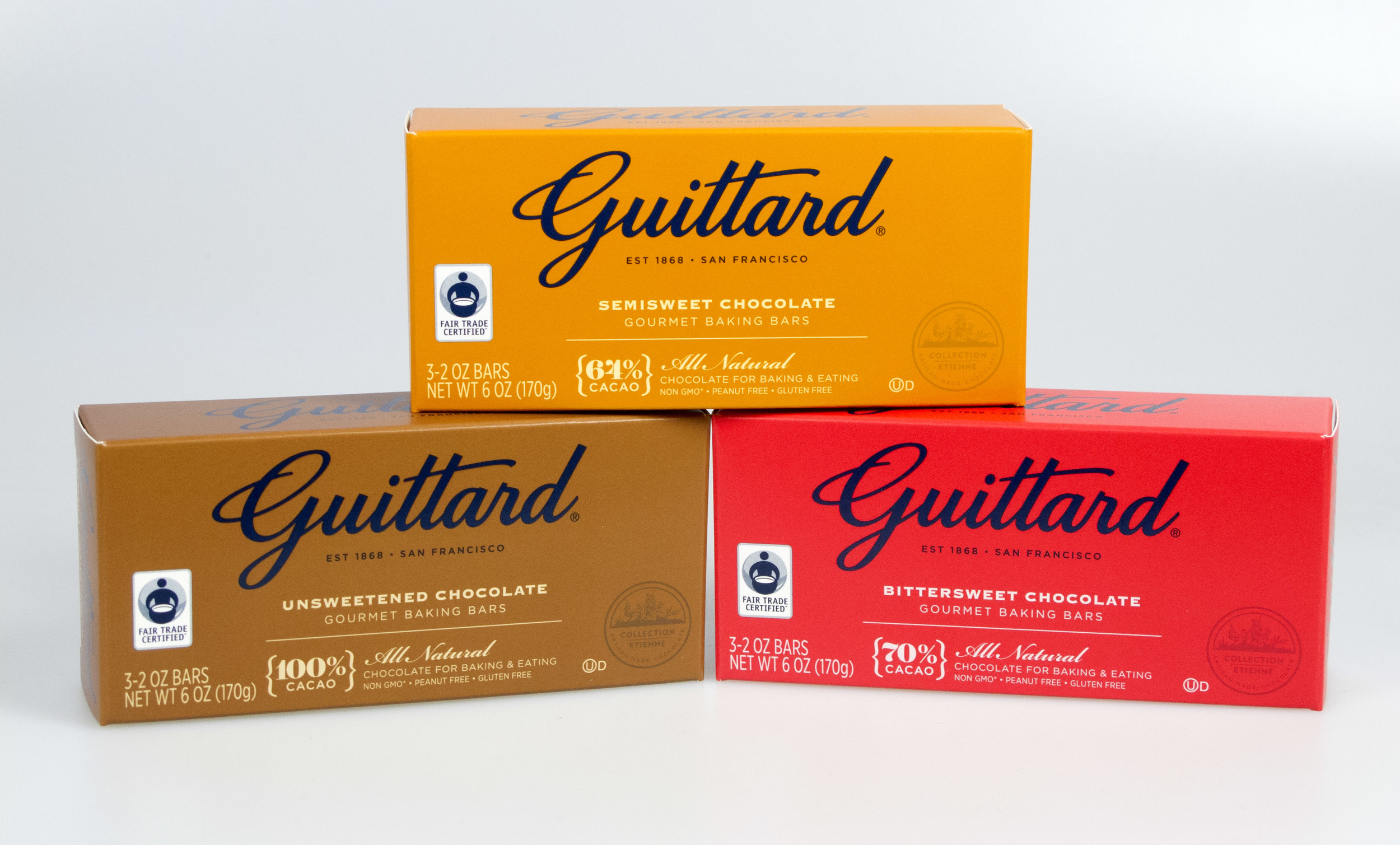 Chocolate Cakes with Guittard's New Gourmet Baking Bars — Nick ...
