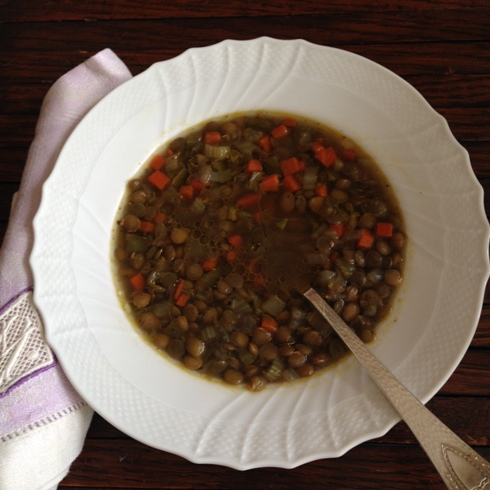 New Year's Day Lentil Soup