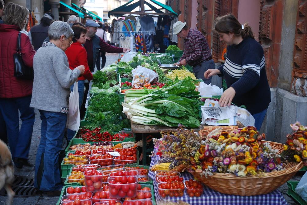 Bellinzona market