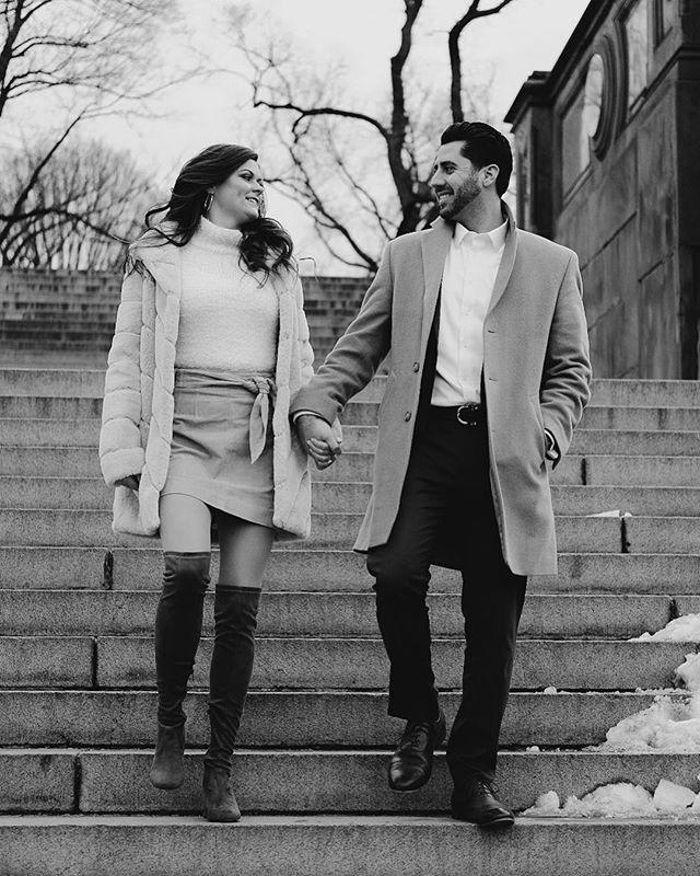. . . . . . . #love #engagementphotos #engagementphotographer #photooftheday #shesaidyes #nycweddingphotographer #centralparkengagement #nycengagementphotographer