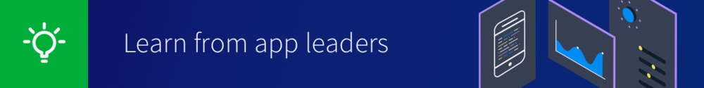 Learn from app leaders header