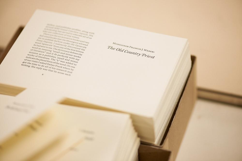 Marina, Bookbinder - L.A. Crafts