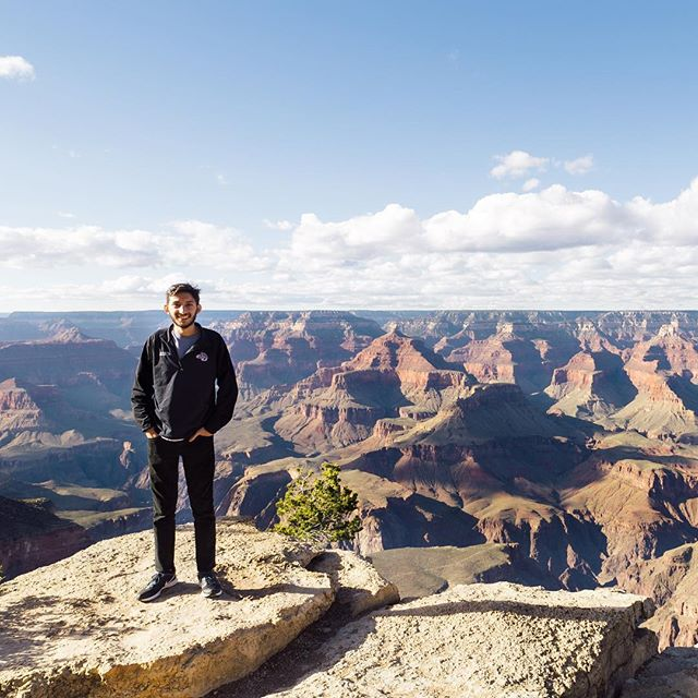 I came for the Final Four but I ended up at the Grand Canyon