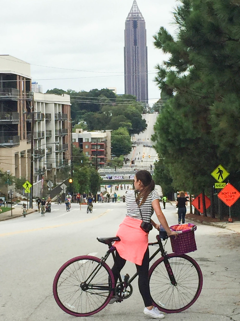 Back in Atlanta on our old street. See Atlanta Street's Alive post for more details on this day.