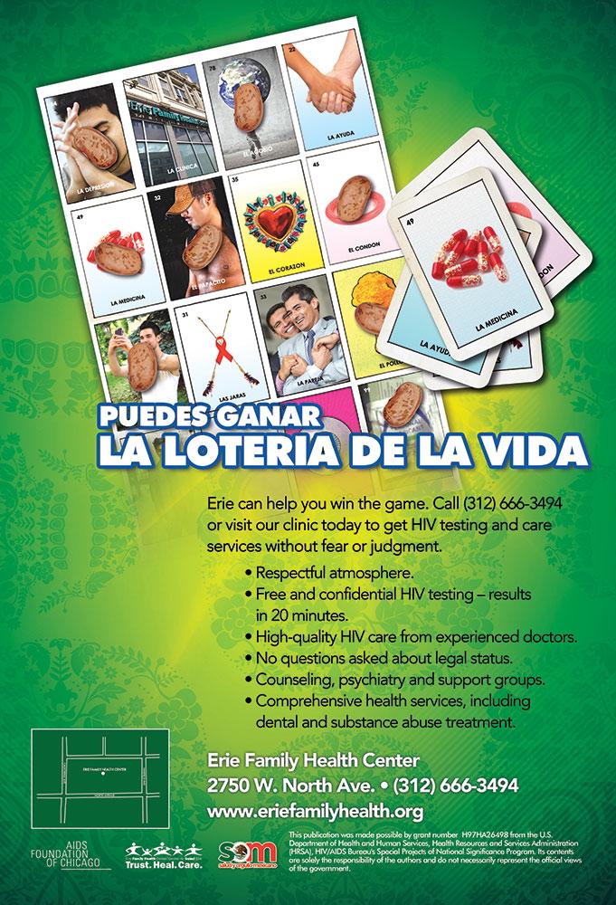 Puedes ganar la lotería de la vida.