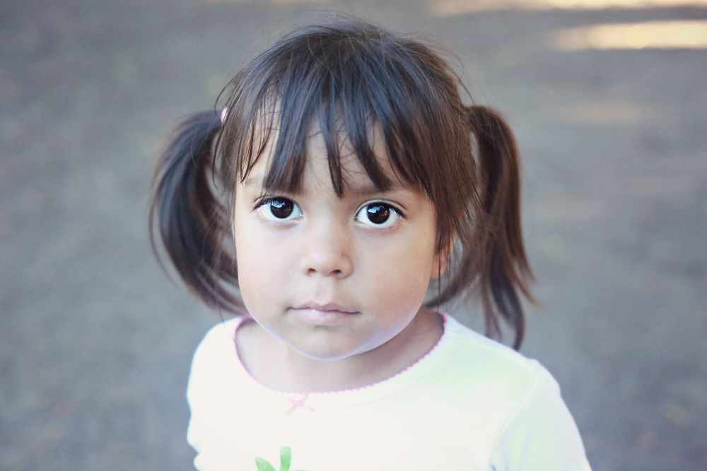 Sweet Baby girl at the Mexico orphanage I serve just because.