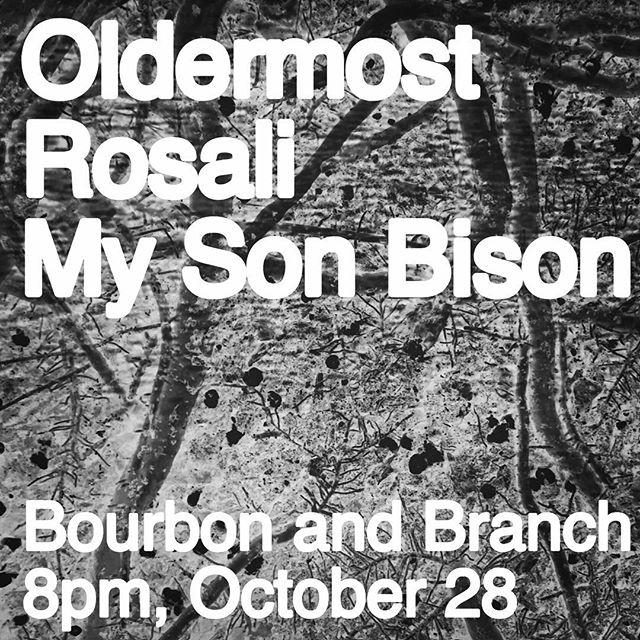 We are considering covers Saturday at @bourbonandbranch + @oldermostmusic + @rosalisings .