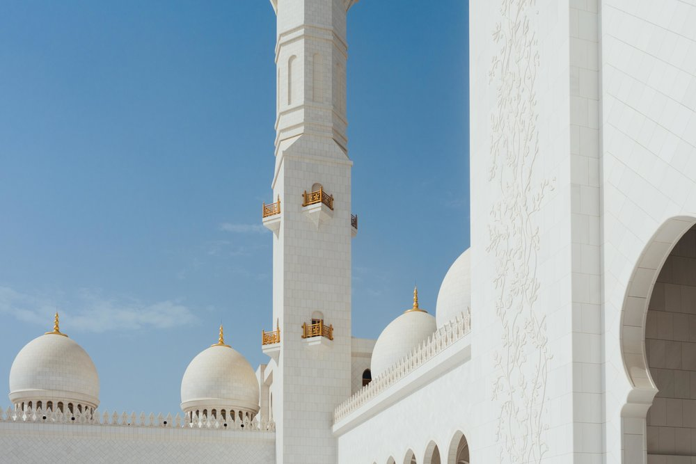 Sheikh Zayed Mosque - 1