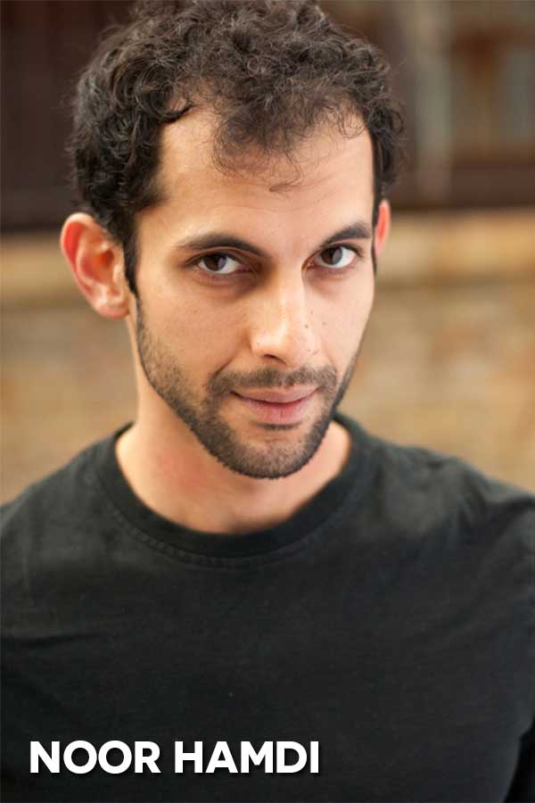 NOOR HAMDI is a Chicago-based actor and is honored to be a part of EL Stories: Heroes. Most recently, he appeared in Xtigone by Nambi E. Kelley with Chicago Danztheater Ensemble. Noor trained at the William Esper Studio in New York City. By day, he pursues his other passion of teaching language; he's currently fluent in five languages, and is working on his sixth.