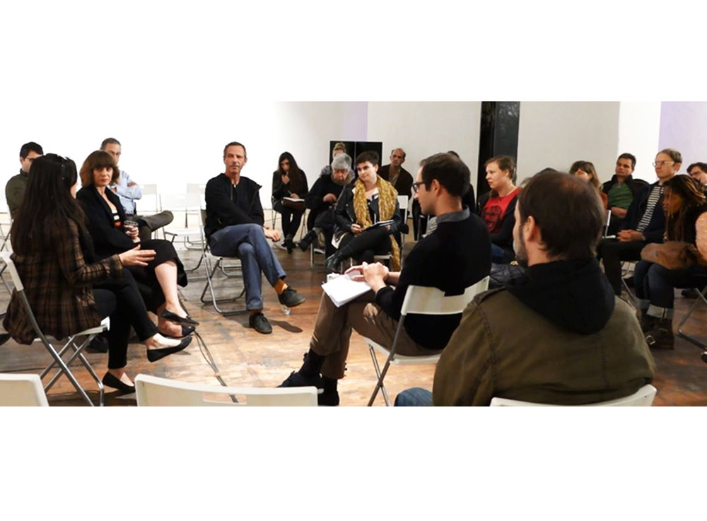 SFMOMA's Open Space: conversation with the Omni at The Lab in San Francisco, CA