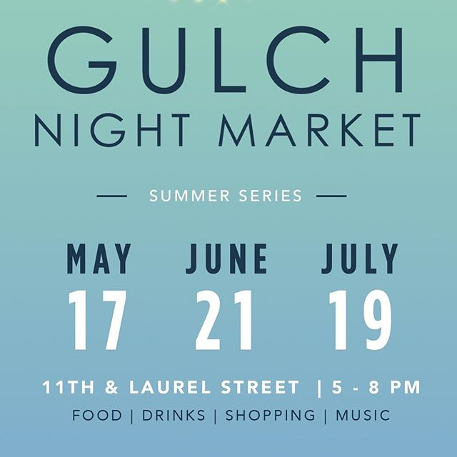 Come join our @lttleoctopus team this Thursday for the first #gulchnightmarket! Pupusas comes my off the plancha from us ~ sponsored by @campariofficial - shopping - DJ - come on out!