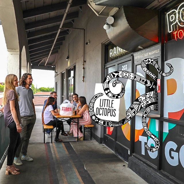 Lil ' Puss is here! Salads, grain bowls and Poke coming at ya East Nashville - for Take Away and Delivery by @postmates and @ubereats. Great food when and where you want it. #poptogo