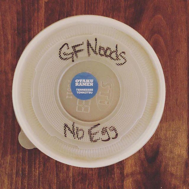 We got you ~ #poptogo is OPEN. Get your dinner. #Repost @jamesethanclark ・・・ My beloved 🖤🍜 . . . . #ramen @thankgoditsramen @otakuramen #nashville #nashvilleeats #eastnashville #gfnoods #gfnoodles #glutenfree #glutenfreenoodles #porkbonebroth #tonkatsu #tn #615