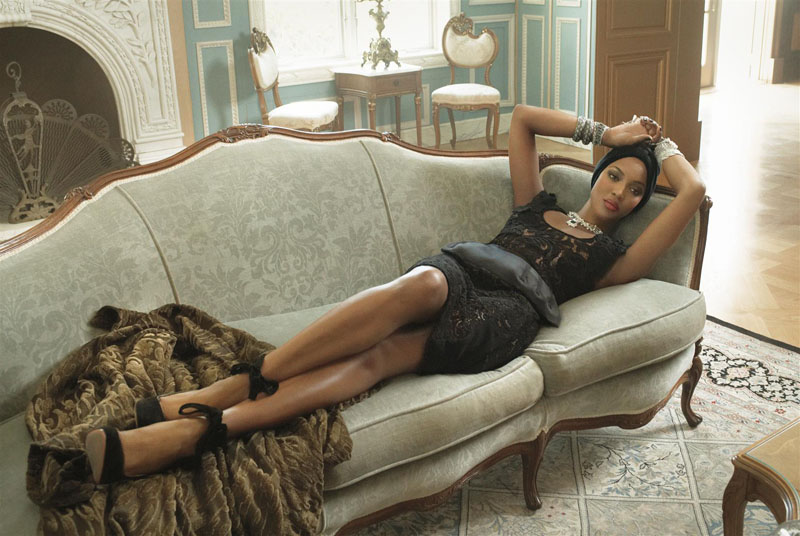 Naomi Campbell in Vogue Italia, 2015