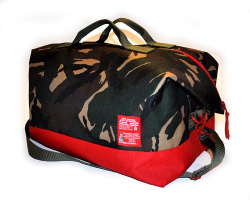 c. cardi - camo Traveler Duffle bag
