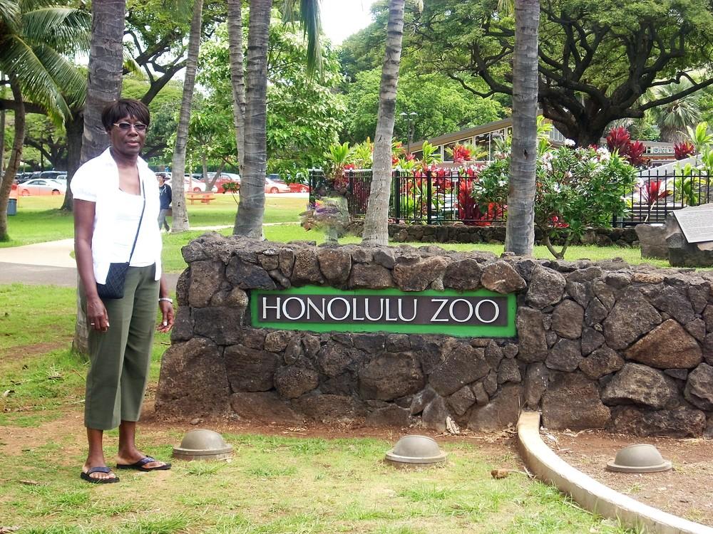 Ms. Joanne Charles in Hawaii