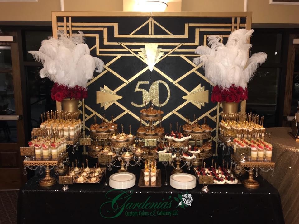 Sweets Bar - Gardenia Custom CAkes & Catering, LLC