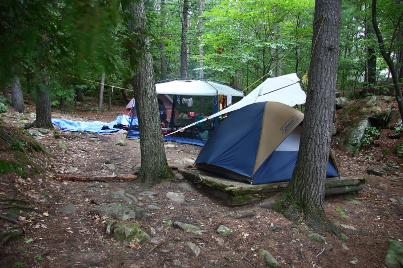 Camping In Bon Echo Part 1 Kids In The Capital