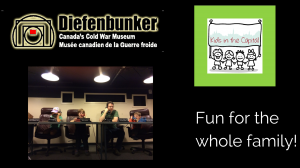 Diefenbunker with kids