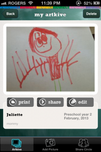3.5 year old artwork