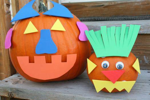 No Carve Pumpkin Decorating Ideas — Kids in the Capital
