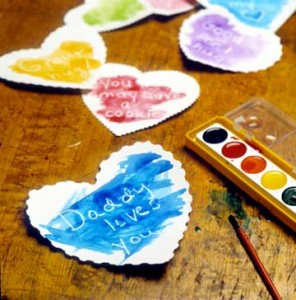 Secret Valentine's Day Craft