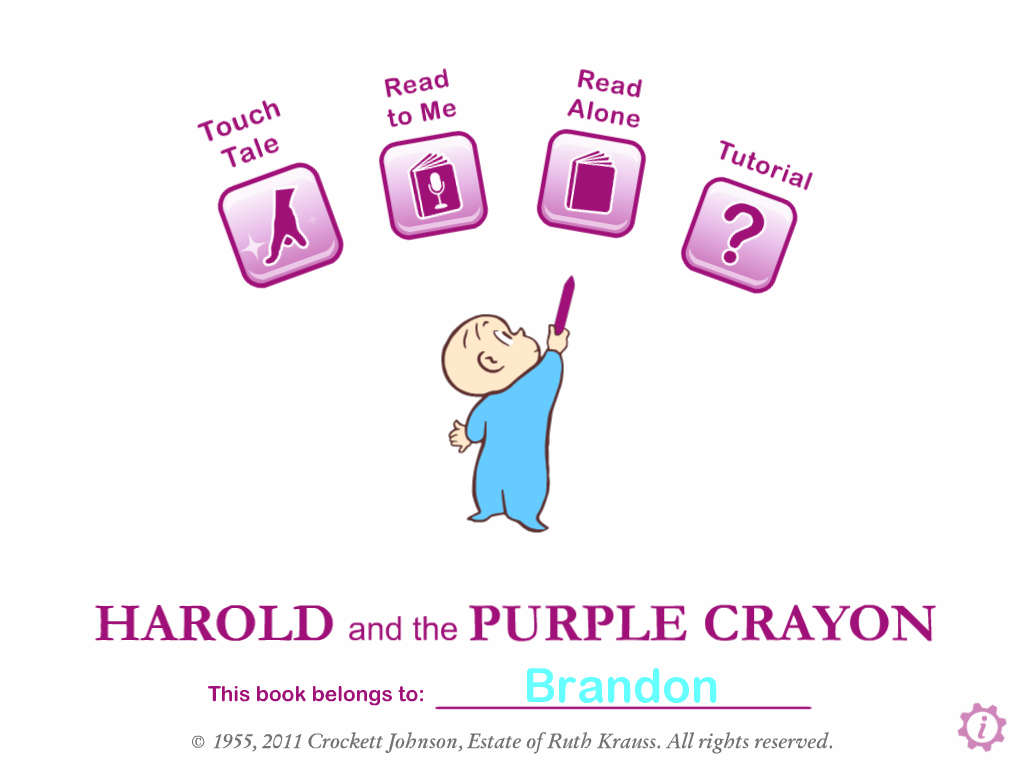 iTunes | Harold and the Purple Crayon
