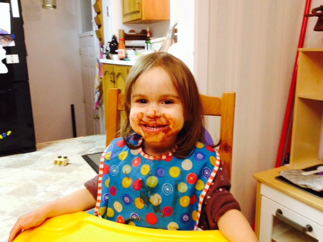 Nothing better than a cute little pudding face!