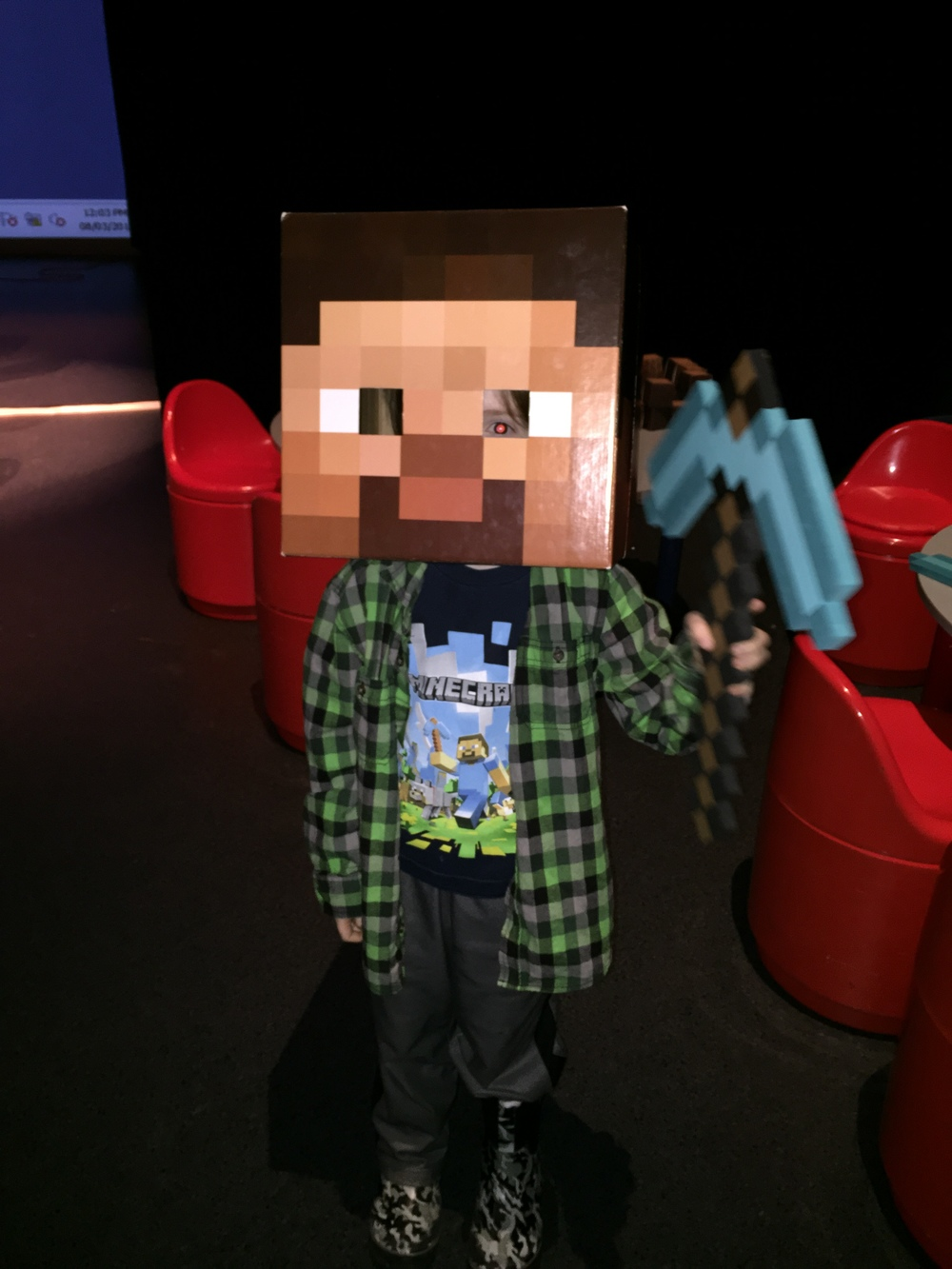 Minecraft Workshops!