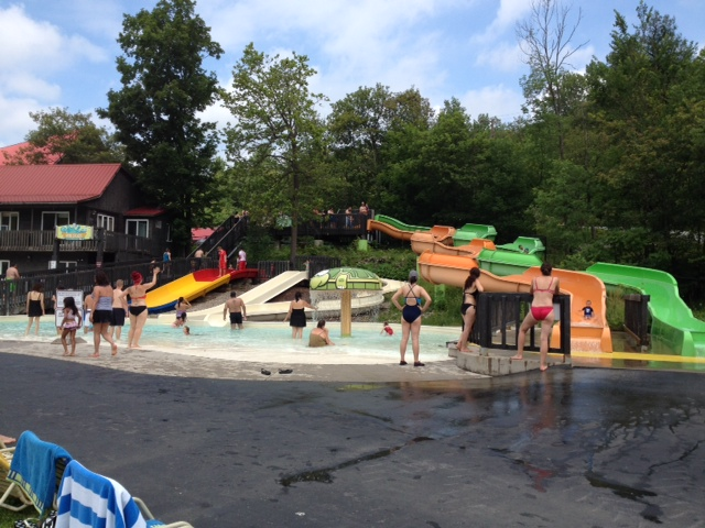 """The Kiddie Slides for those 48"""" and under. My almost-6 year-old liked these the best"""